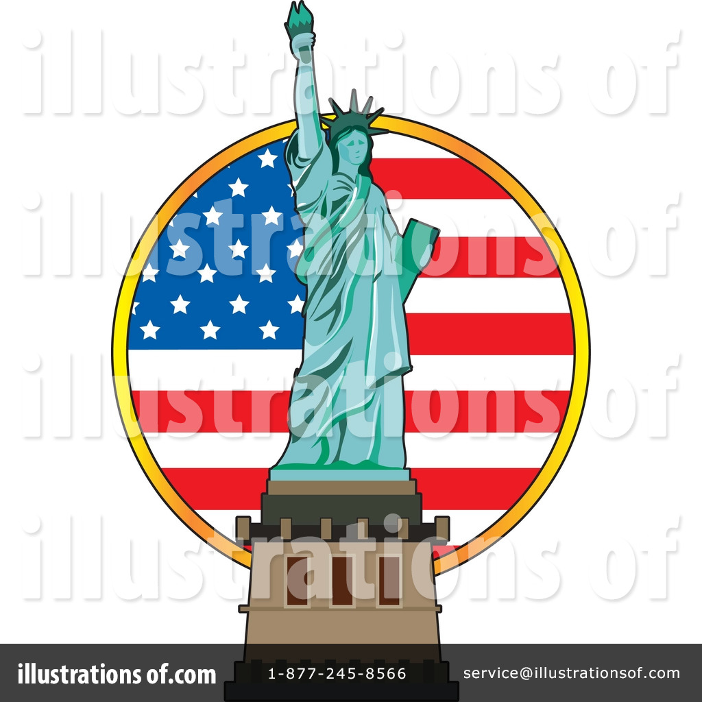 1024x1024 Statue Of Liberty Clipart