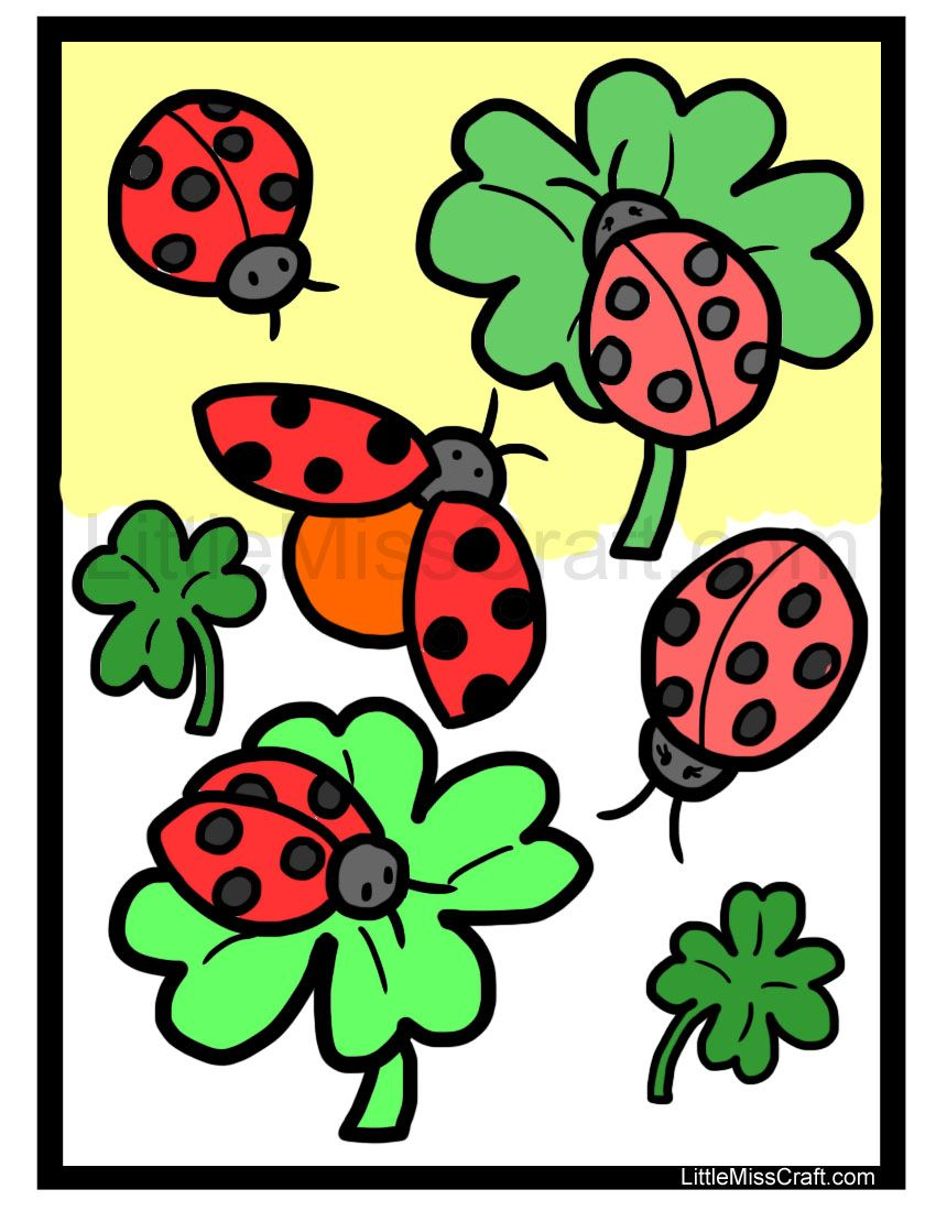 Ladybird Colouring Pages at GetDrawings.com | Free for personal use ...