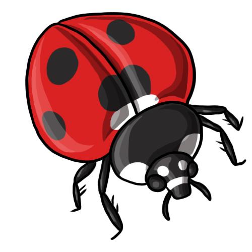 500x500 Free Ladybug Clip Art 6