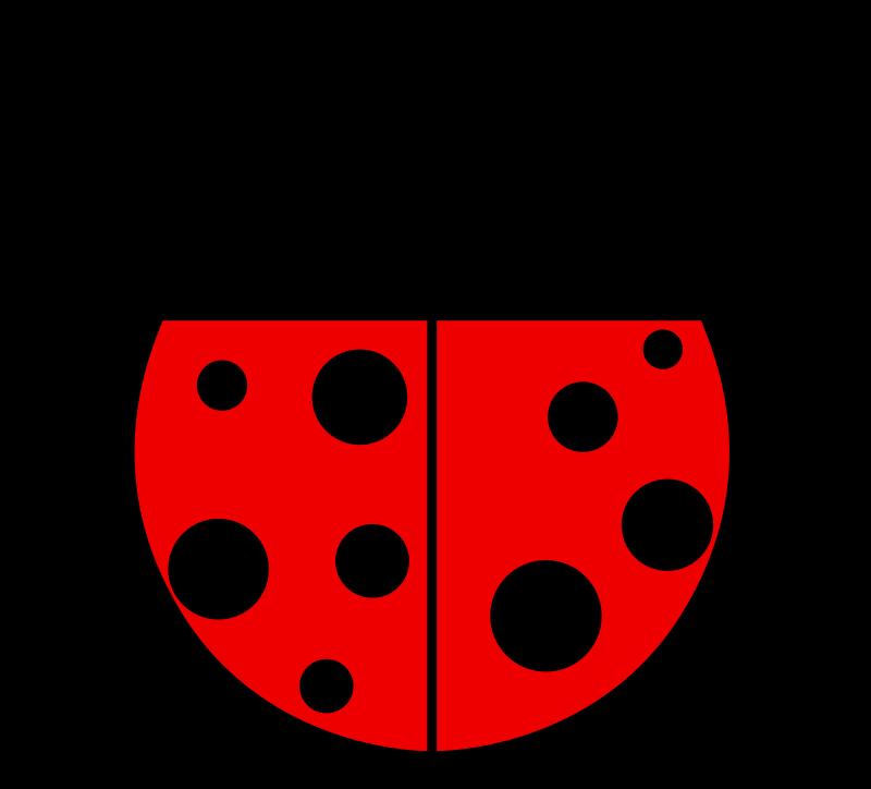 800x724 Free Clipart Ladybug Flat Colors Qubodup