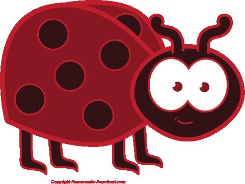 481x363 Free Ladybug Clipart