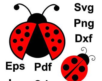 340x270 Ladybug Svg Ladybug Dxf Ladybug Monongram Svg Flying