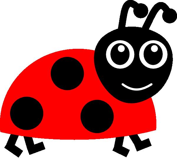 600x534 Red Ladybug Clip Art