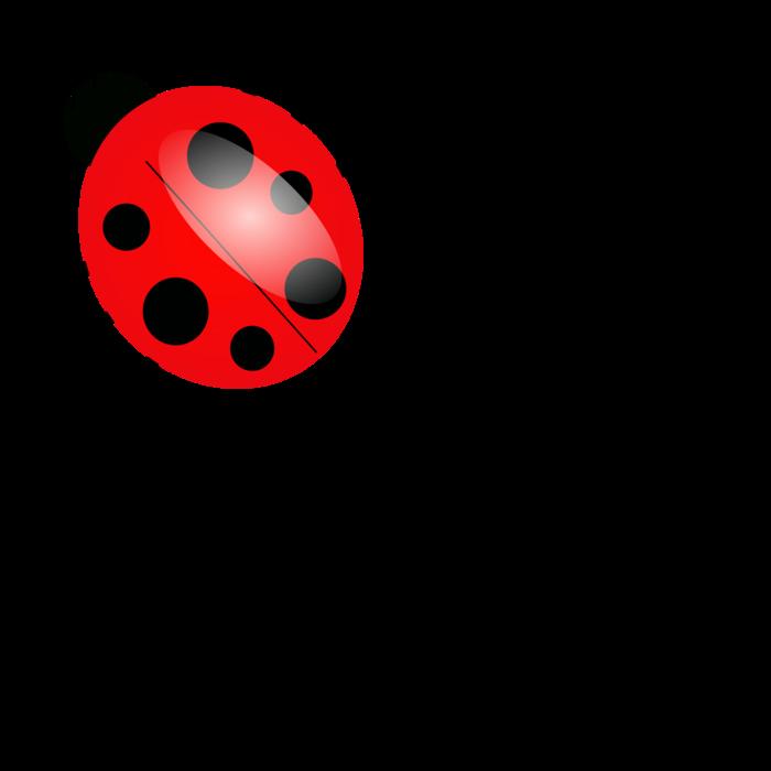 700x700 Cartoon Ladybug Clip Art