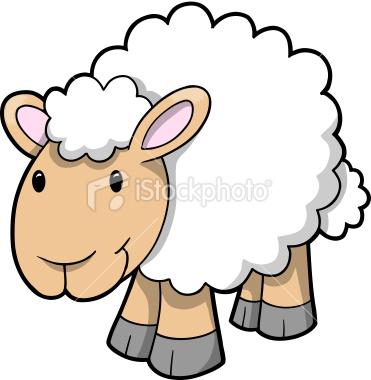 371x380 Free Printable Lamb Clipart
