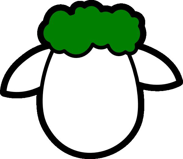 600x524 Lamb Face Clipart