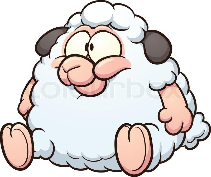 800x673 Simple Clipart Sheep