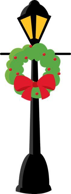 236x644 Lamp Post Clip Art For Christmas Fun For Christmas
