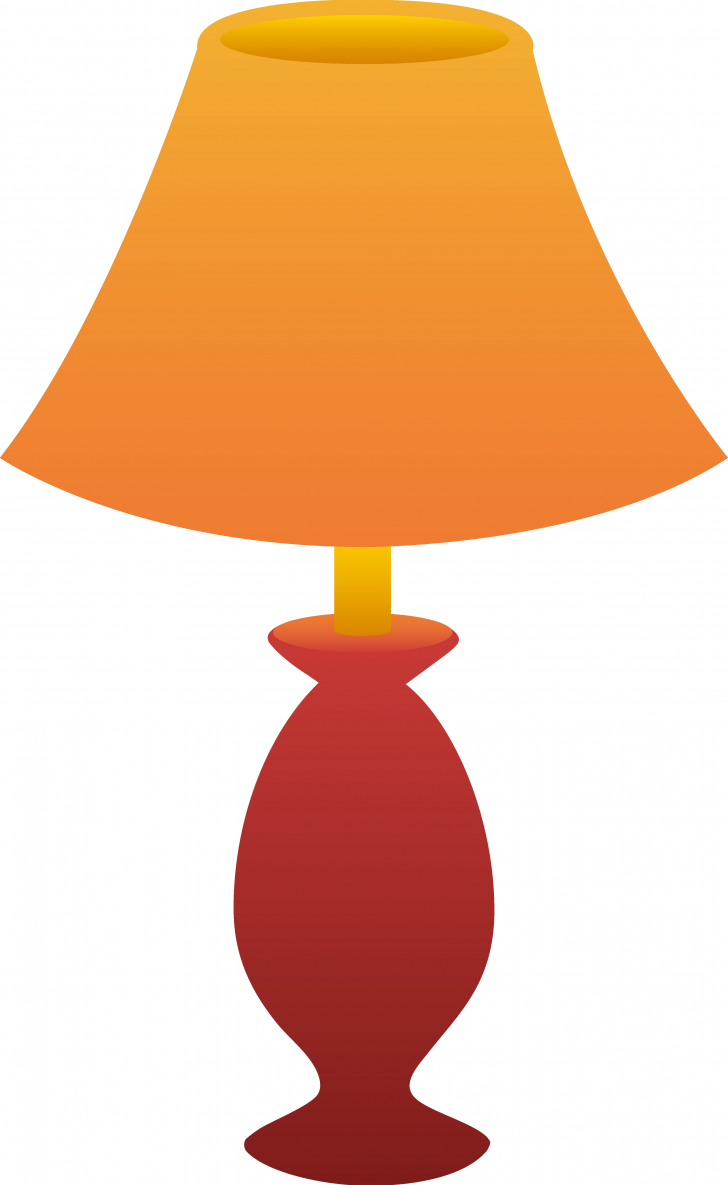 728x1185 Awesome Table Lamp Clipart
