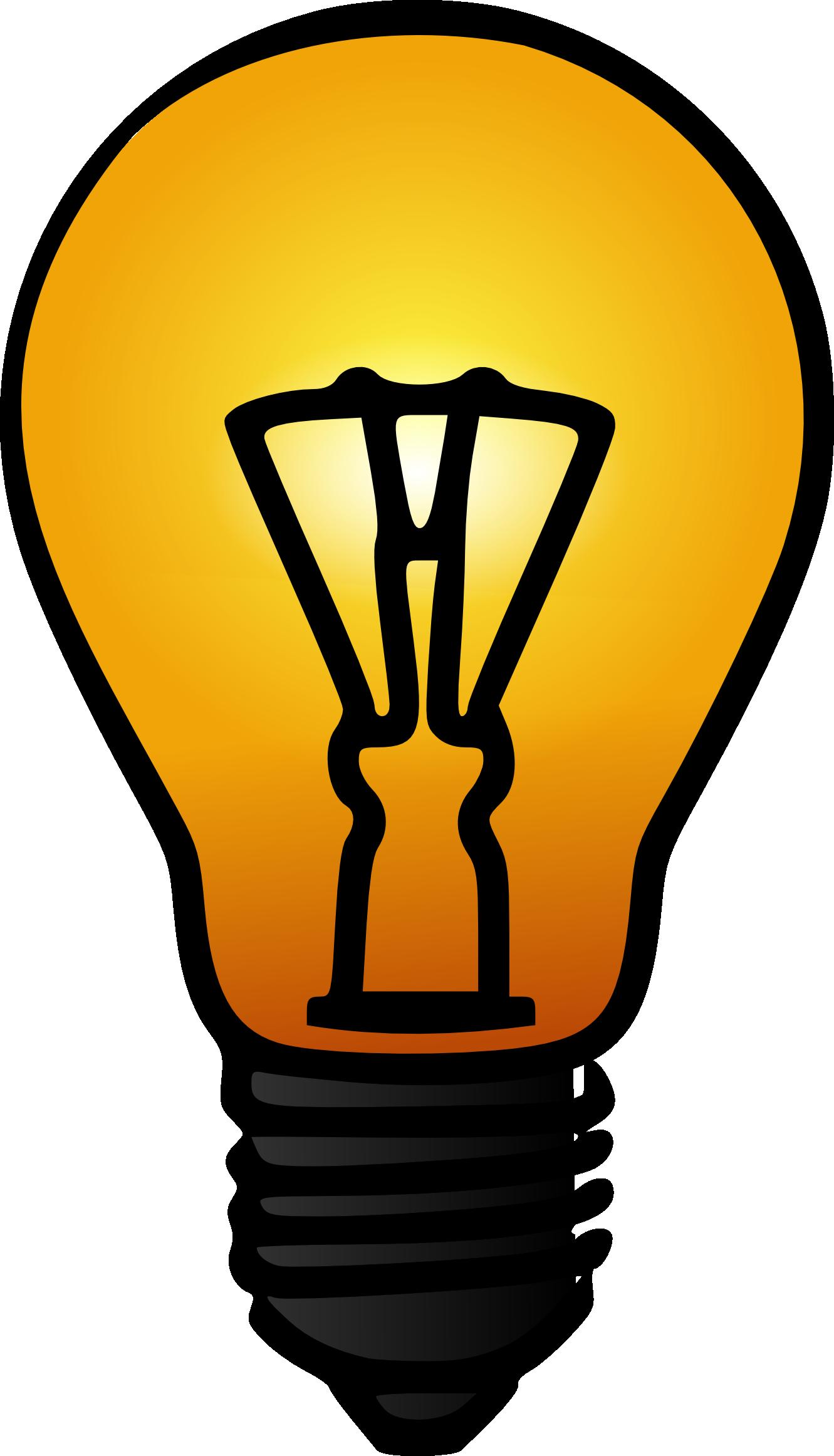 1331x2324 Bulb Lamp Clip Art At Clker Com Vector Online Royalty Light