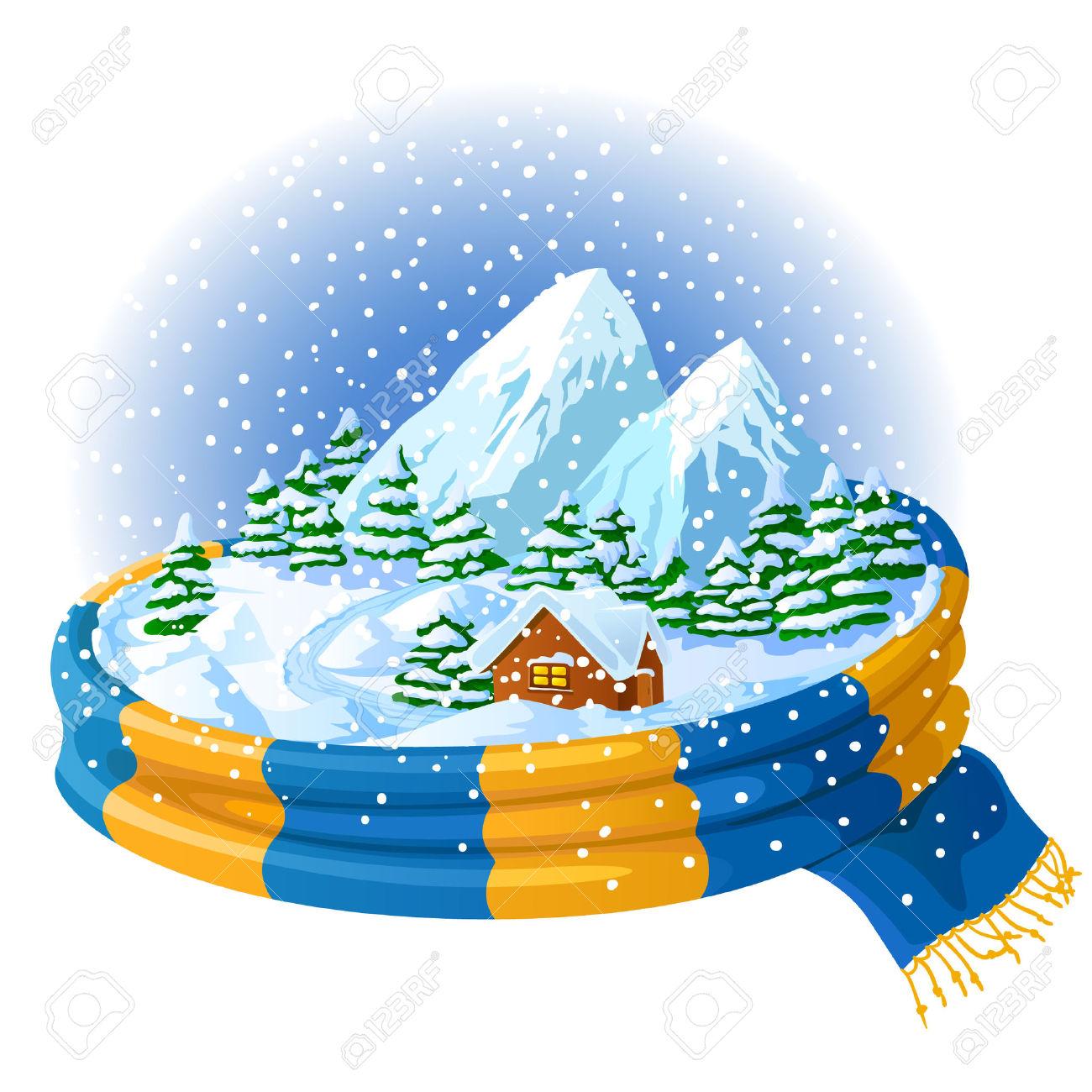 1300x1300 Landscape Clipart Winter Weather