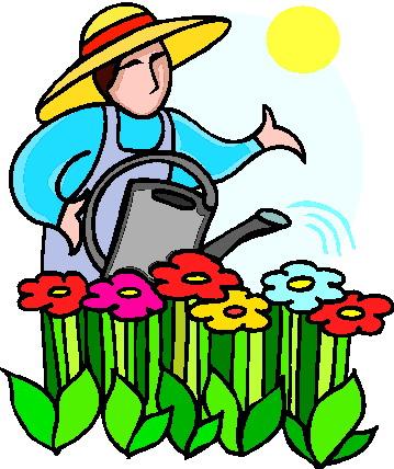359x428 Garden Pictures Clip Art, Landscaping Rock For Flower Beds