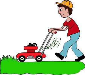300x263 Lawn Clip Art Clipart