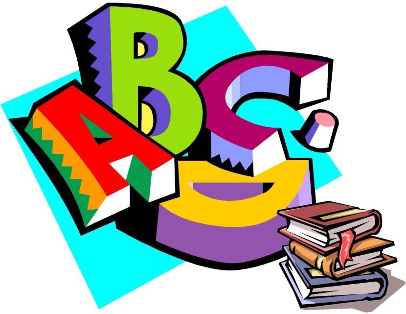 830x641 Best Of Language Arts Clipart Letters Format