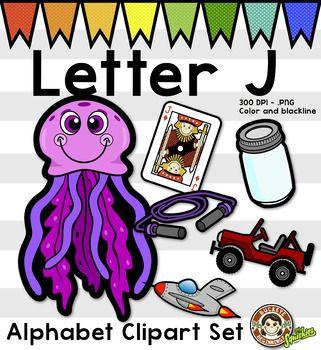 321x350 Alphabet Clip Art Letter J Phonics Clipart Set