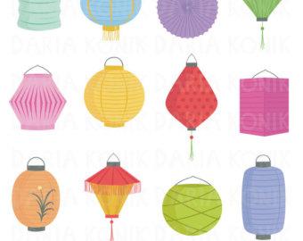 340x270 Lantern Clip Art Etsy