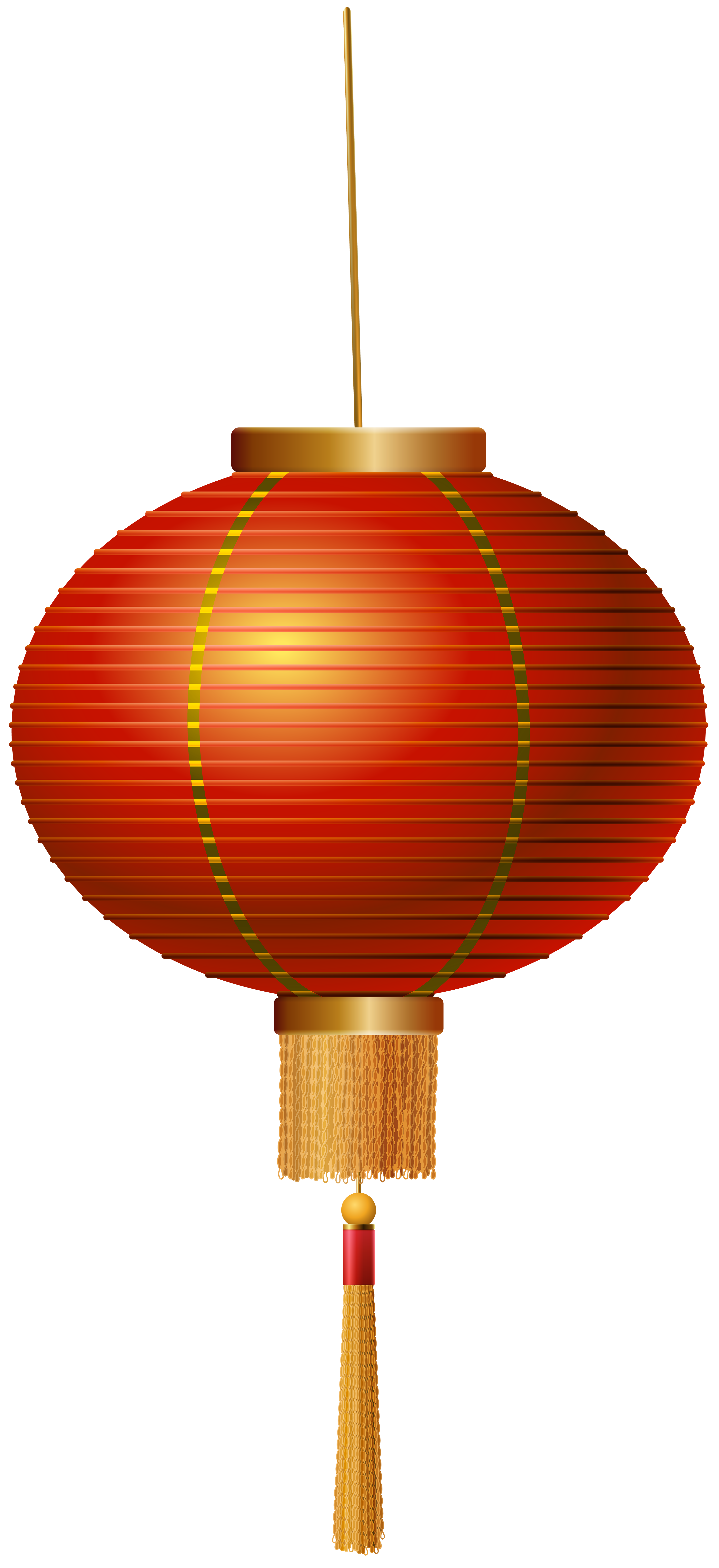 3668x8000 Red Chinese Lantern Png Clip Art