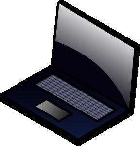 288x300 Laptop Clip Art