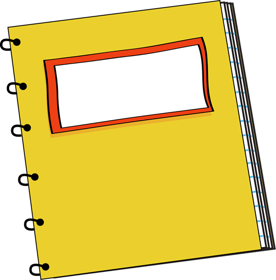 543x550 Notebook Clipart Transparent Clip Art Library Png