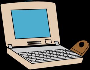 299x231 Pink Laptop Clip Art