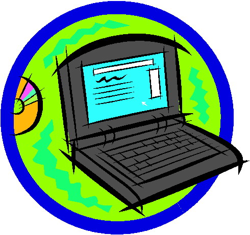 490x461 Clip Art Computer Laptops