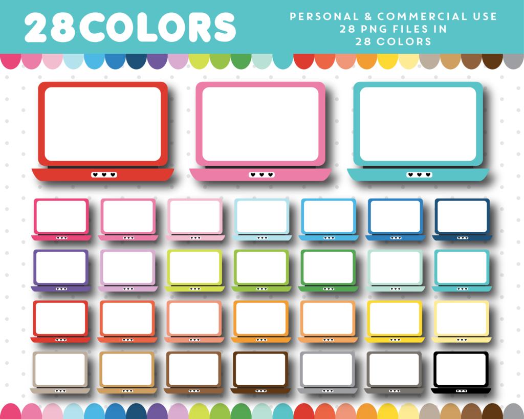 1024x819 Computer Laptop Clipart In 28 Colors, Cl 1579 Cl, Clip Art