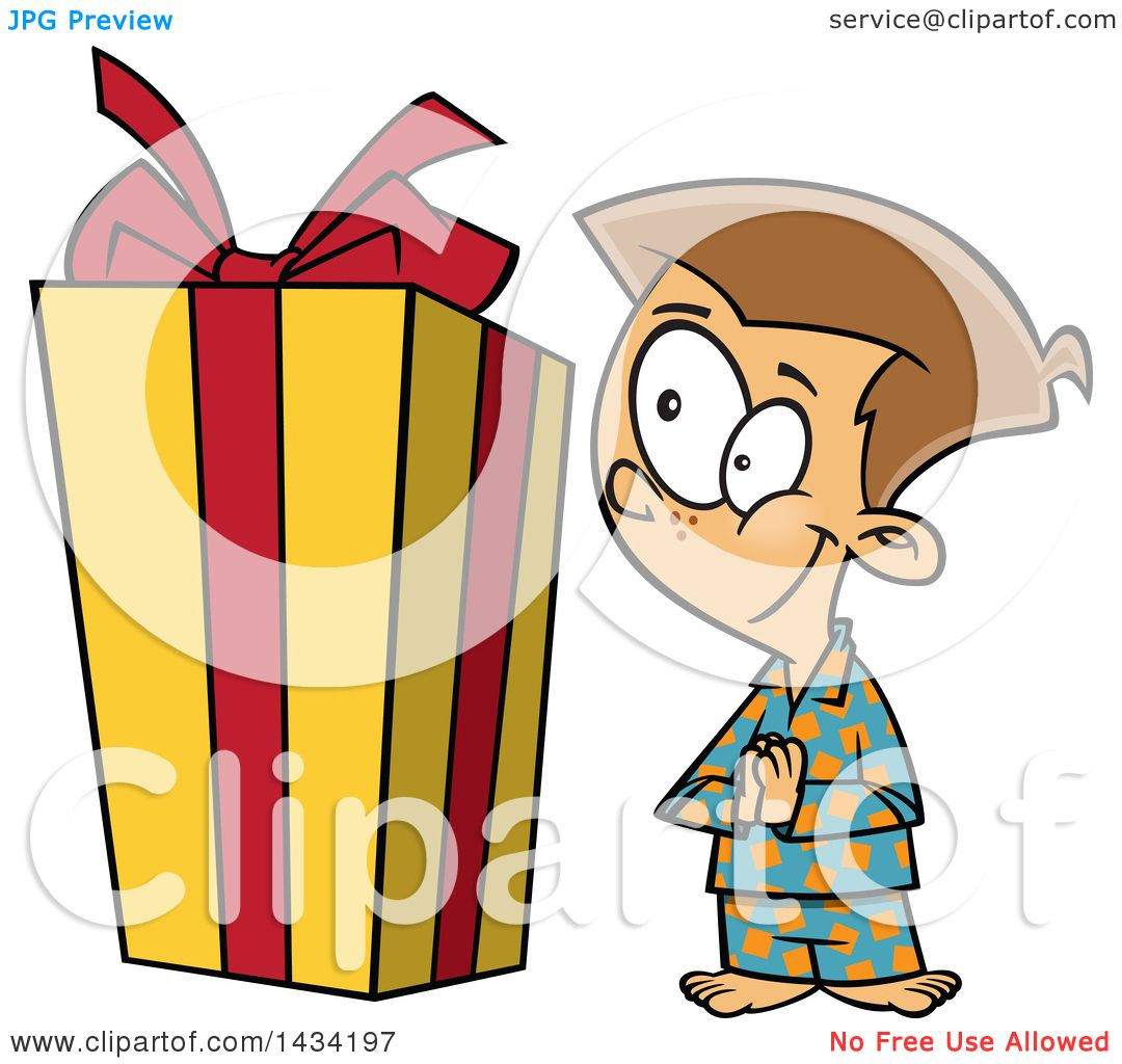 1080x1024 Clipart Of A Cartoon Excited Caucasian Boy Looking