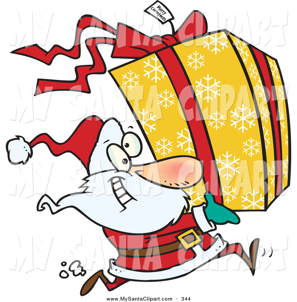 1024x1044 Royalty Free Stock Santa Designs Of Christmas Presents