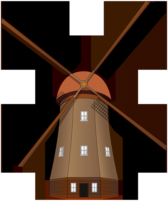 5018x6000 Windmill Large Png Clip Art