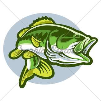 325x325 Largemouth Bass Gl Stock Images
