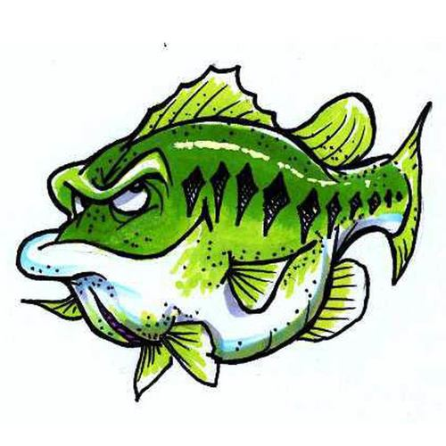 500x500 Lucky (Largemouth Bass)