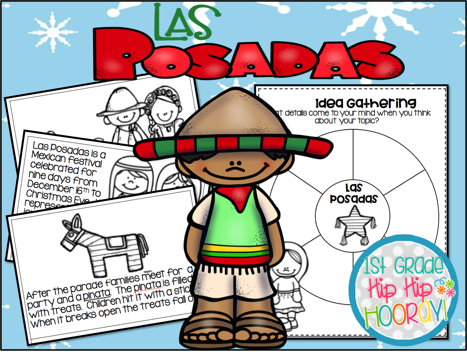 1506x1141 1st Grade Hip Hip Hooray! Holidays Around The World Las Posadas
