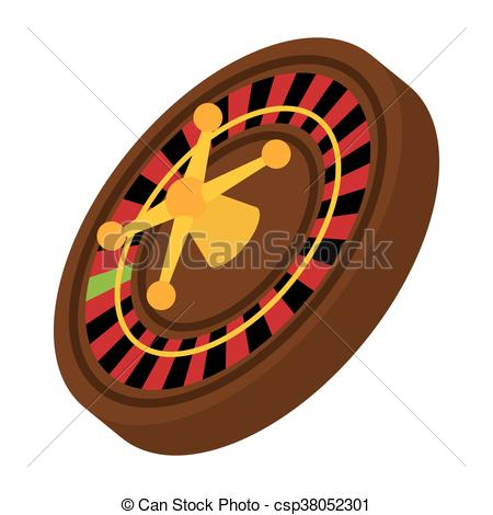 450x470 Roulette Icon. Casino And Las Vegas Design. Vector Graphic