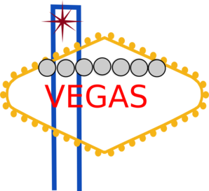 298x273 Vegas Pony Sign Clip Art