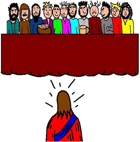 560x569 12 Apostles Clipart