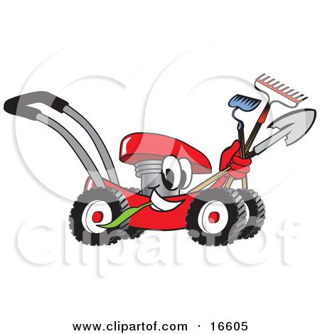 450x470 Lawn Mower Clip Art