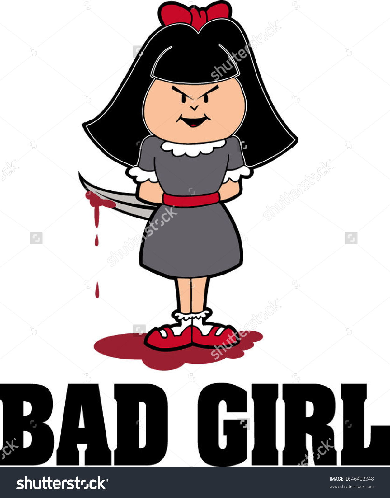 1253x1600 Bad Girl Clipart