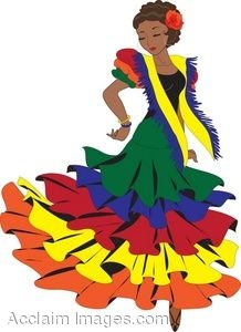 218x300 Clipart Picture Of A Latino Pasa Doble Dancer