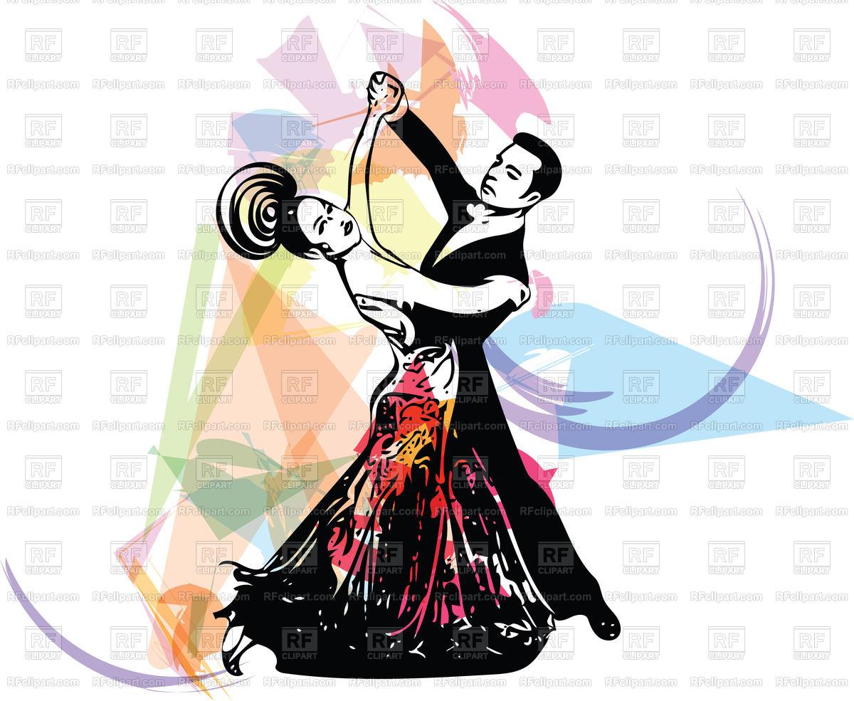 1200x985 Abstract Latino Dancing Couple Royalty Free Vector Clip Art Image