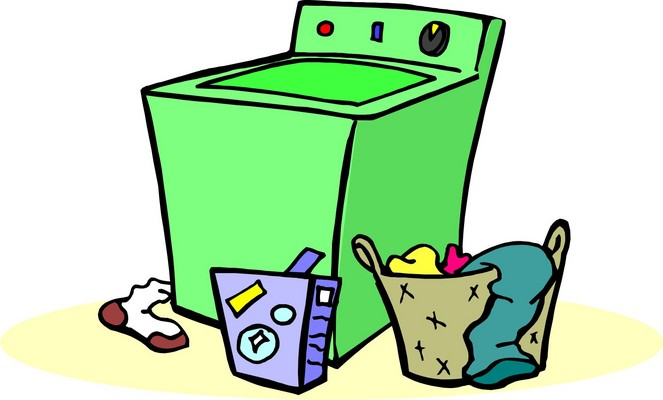 663x400 Laundry Clipart 4 Image 3
