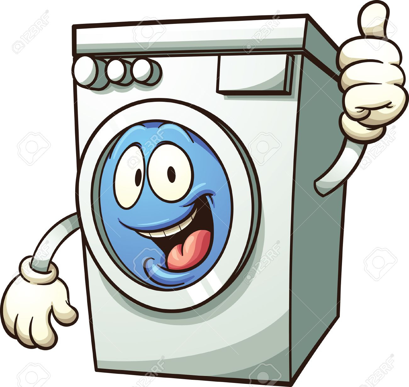 1300x1232 Cartoon Washing Machine Vector Clip Art Illustration With Simple
