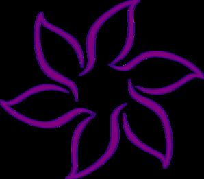 298x261 Purple Flower Clip Art Clipart Panda