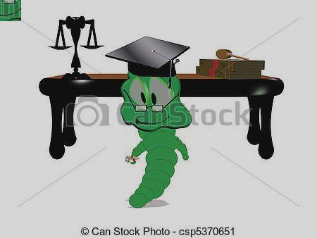 450x338 Clip Art Vector Clip Art Of Willy Worm Graduates Law School Caqgrcl