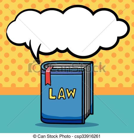 450x470 Law Book Doodle Clip Art Vector
