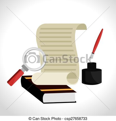 450x470 Law Design. Law Design Over White Background, Vector Vectors