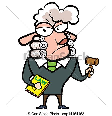 450x470 Cartoon Sheep Judge With A Gavel And Law Book. Clip Art Vector