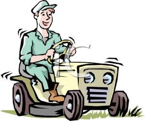 300x251 Free Lawn Mower Clipart