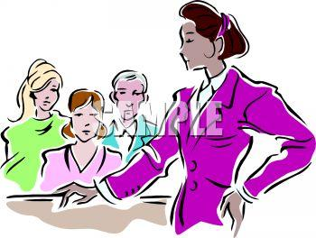 350x264 Woman Lawyer Clipart