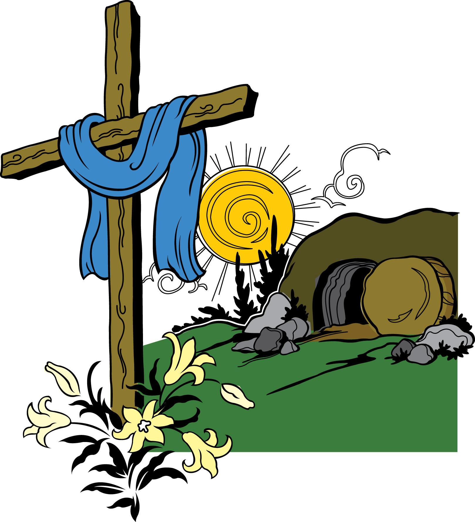 1618x1775 Easter Empty Tomb Clip Art