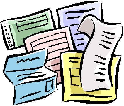 423x364 Paperwork Clip Art Clipart